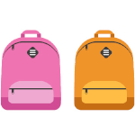 image of two backpacks