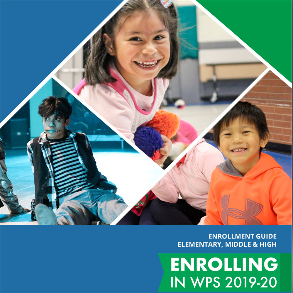 Cover WPS Enrollment Guide - Students from WPS