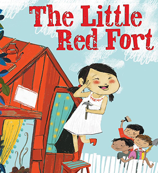 cover of the little red fort