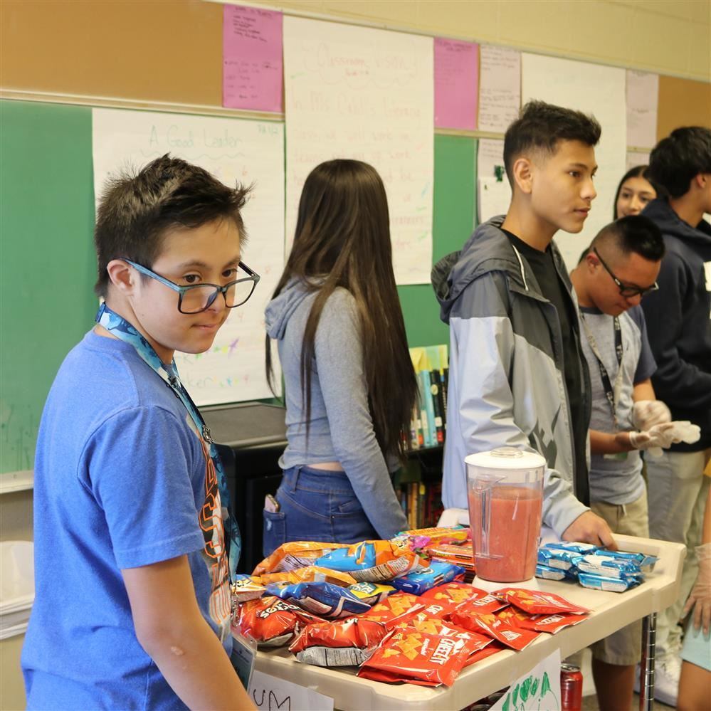 Ranum Snack Cart Prepares Students with Special Needs for High School and Beyond
