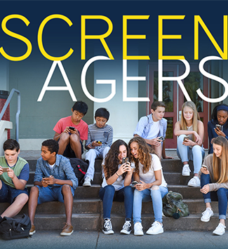 Screenagers movie graphic