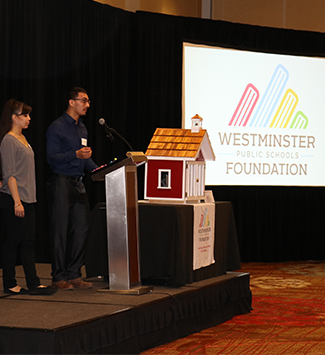 Students speak at the 2019 WPSF annual breakfast
