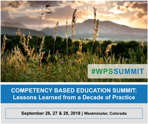 wpssummit competency based education summit lessons learned from a decade of practice image with date