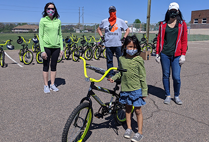 Wish for Wheels Kicks off Summer with Free Bikes for Sherrelwood Students