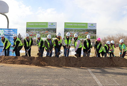 Groundbreaking Ceremony for Skyline Vista Elementary