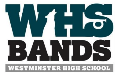 WHS Bands, Westminster High School logo