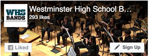 Westminster High School Bands Facebook Page
