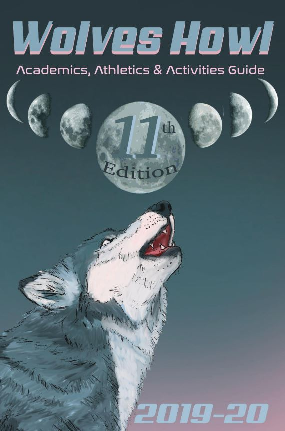 Picture of the cover of the Wolf Howl