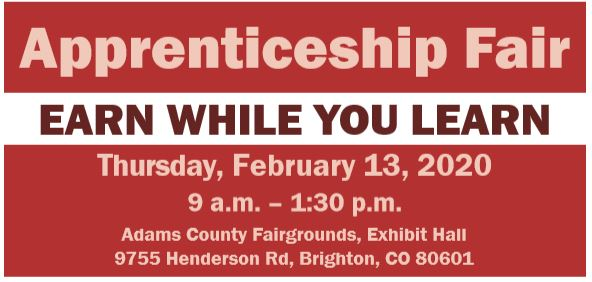 FEB 13 | Adams County Apprenticeship Fair for Juniors & Seniors