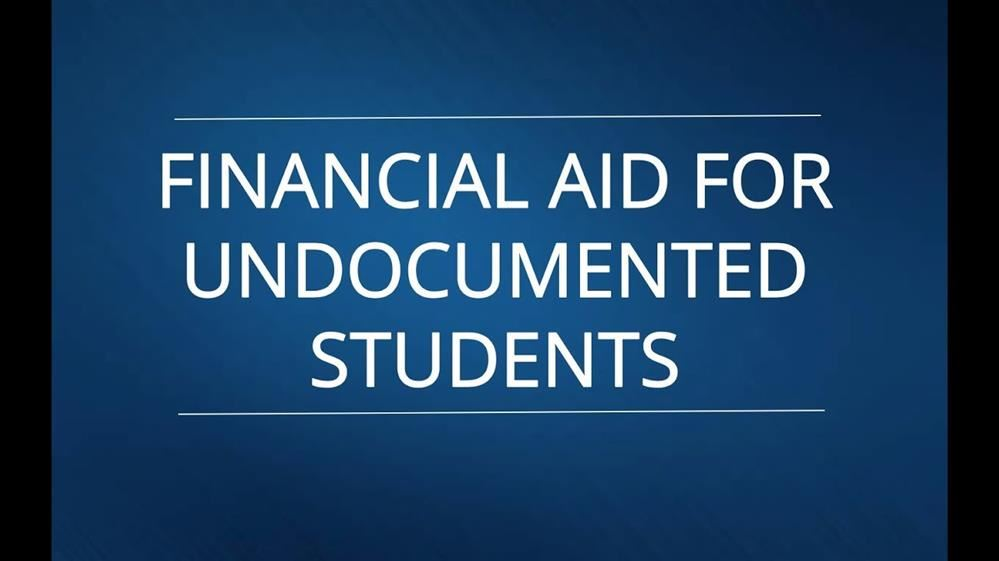 FINALLY - Colorado Financial Aid for Undocumented Students!