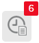 an example of an icon that appears when a student has missing work