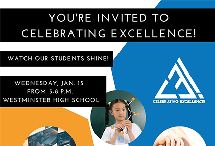 You're Invited to Celebrating Excellence!