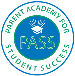 Parent Academy for Student Success PASS Logo graduation cap image