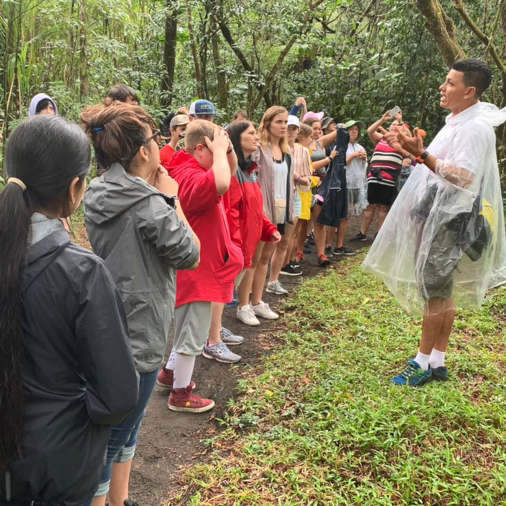 WAIS students visit Costa Rica