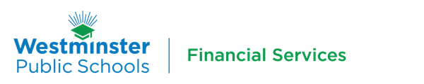 westminster public schools financial services logo