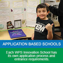 Application Based Schools at WPS