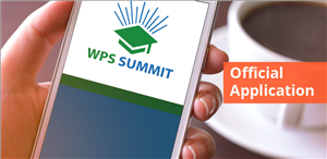 wps summit app image on a cell phone