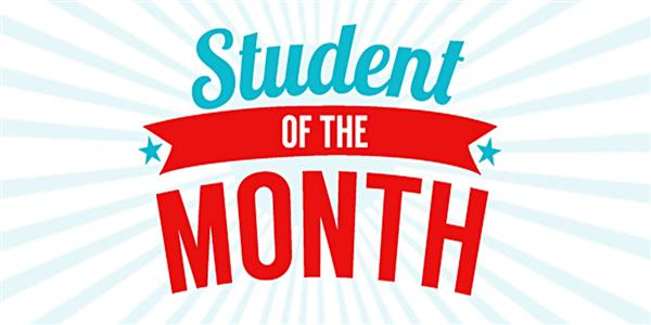 Congratulations to our Optimist Student of the Month!