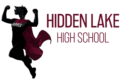 new hidden lake high school logo