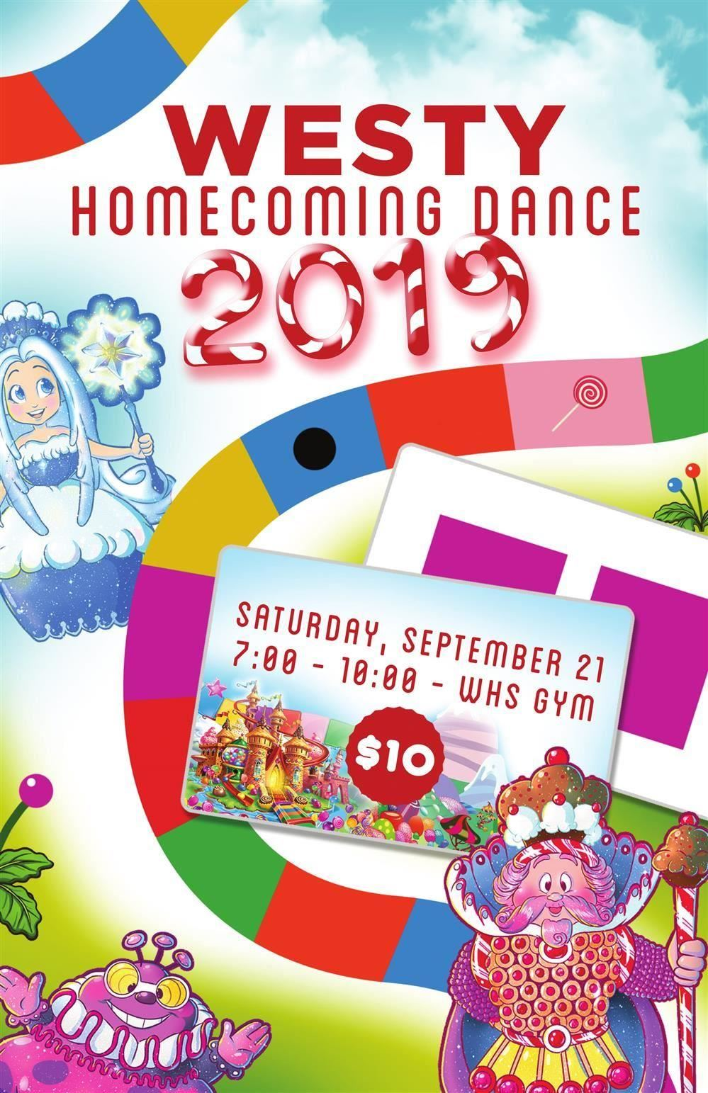 2019 Westy Homecoming Flyer
