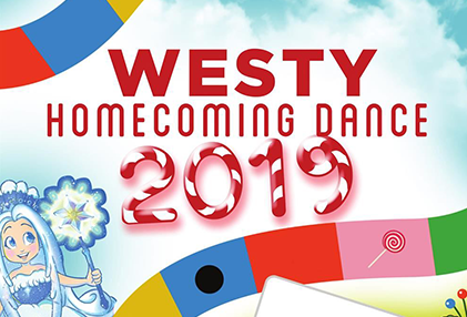 2019 Westy Homecoming Candy Land Flyer
