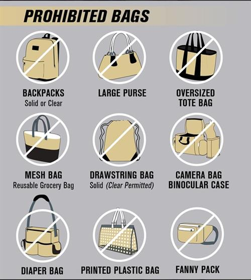 Prohibited Bags