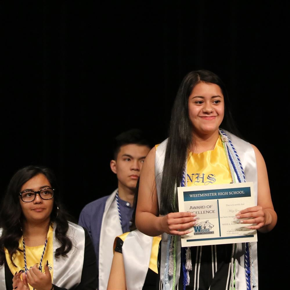2019 WHS Senior Award Ceremony