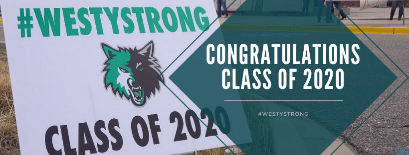 Congrats to WHS Class of 2020 banner