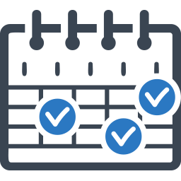 icon of a schedule