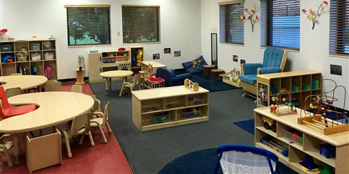 picture of the toddler classroom