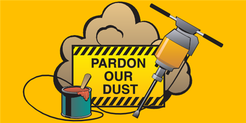 Pardon Our Dust Early Learning Center F.M. Day