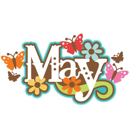 May text with butterflies