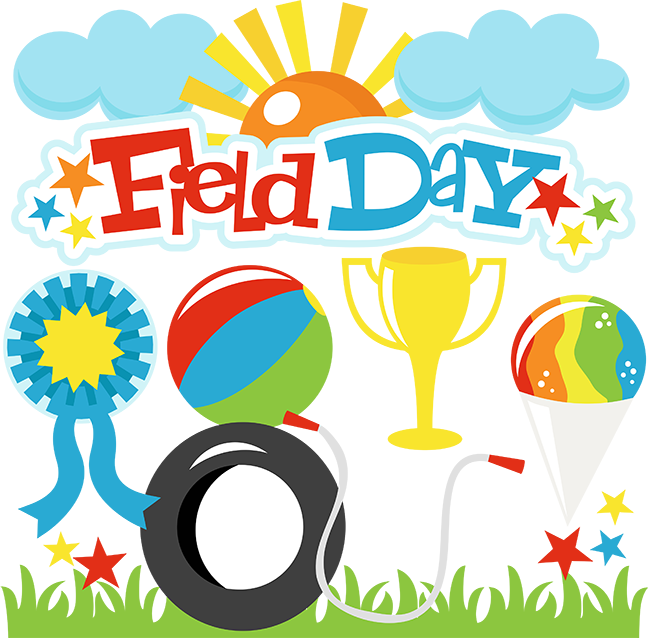 field day image with sports equipment