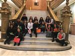 WPS high school students at the Capitol.